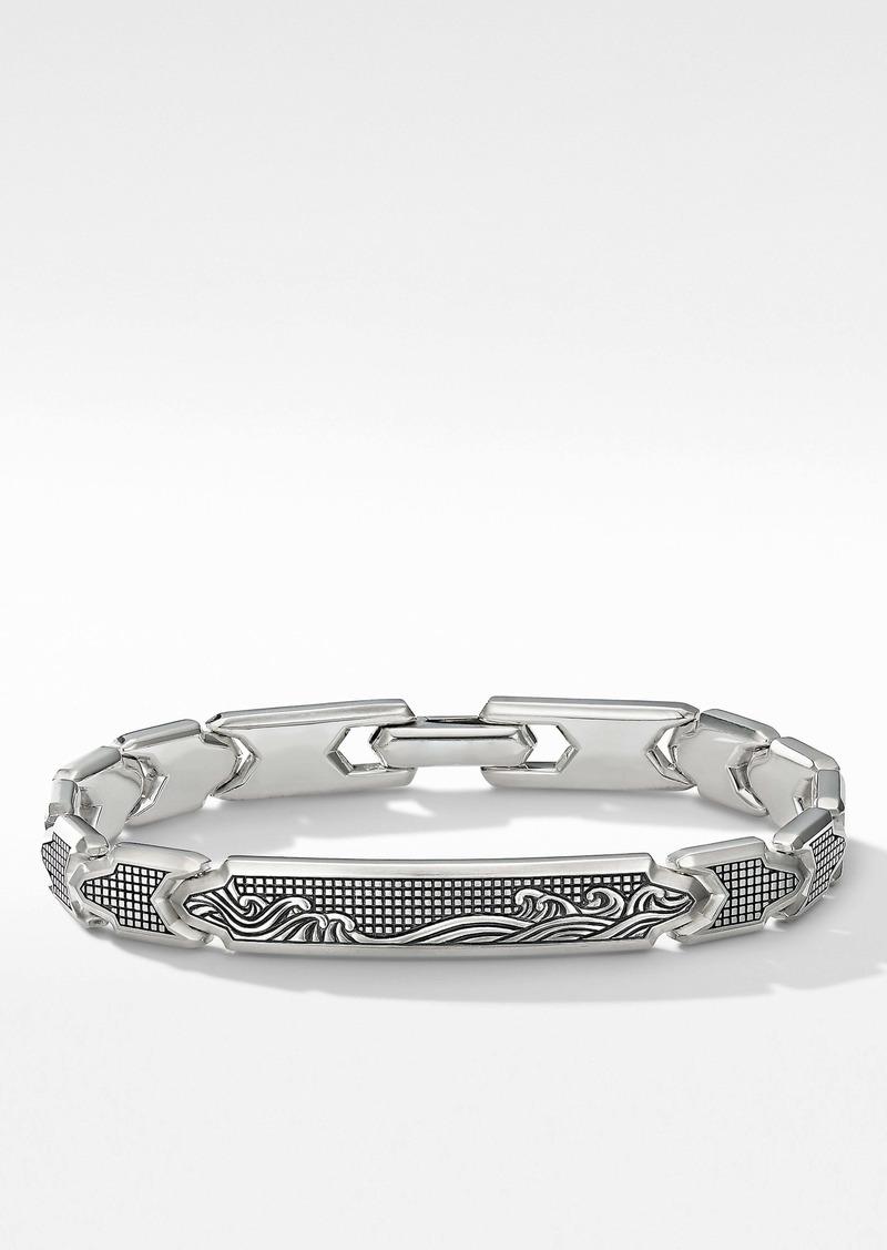 David Yurman Waves ID Link Bracelet