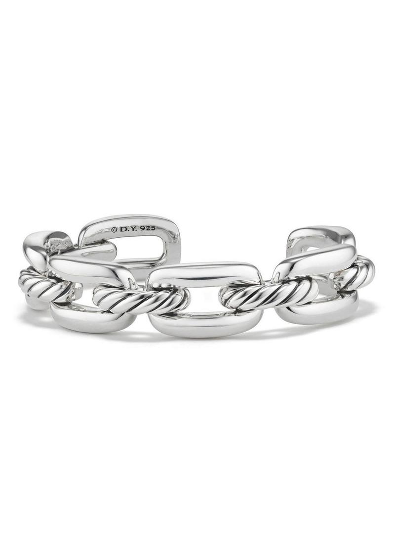 David Yurman Wellesley Chain Link Cuff Bracelet