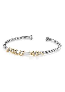 David Yurman Whispers Te Amo Bracelet