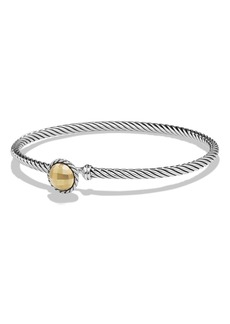 David Yurman'Châtelaine'Bracelet with Gold Dome and 18KGold