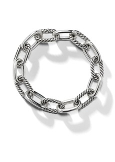 David Yurman sterling silver DY Madison medium 11mm bracelet