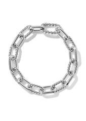 David Yurman sterling silver DY Madison small 8.5mm bracelet