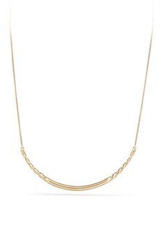 David Yurman Pure Form Collar Necklace in 18K Gold