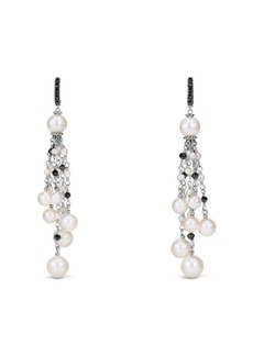 David Yurman Solari 2-8MM White Pearl Drop Earrings