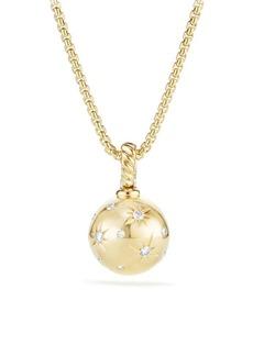 David Yurman Solari Gold & Diamond Pendant