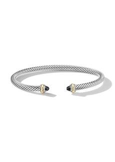 David Yurman sterling silver 4mm cable bracelet