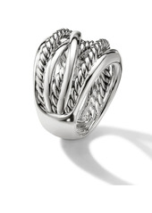 David Yurman The Crossover Collection Wide Ring
