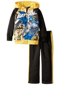DC Batman Little Boys' Toddler 2 Piece Hoodie and Pant Set