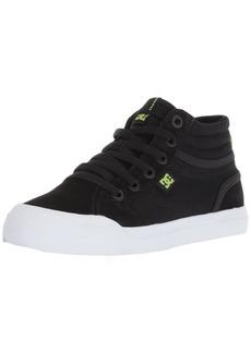 DC Boys' Evan HI Zip Skate Shoe   M US Little Kid
