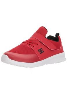 DC Boys' Heathrow Prestige EV Skate Shoe RED/Black