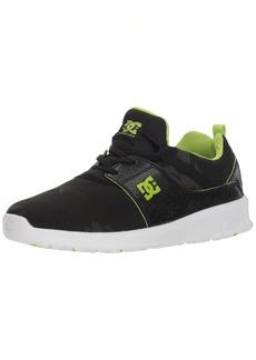DC Boys' Heathrow TX SE Skate Shoe CAMO  M US Big Kid