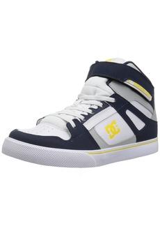 DC Boys' Pure HIGH-TOP EV Skate Shoe   M M US Big Kid