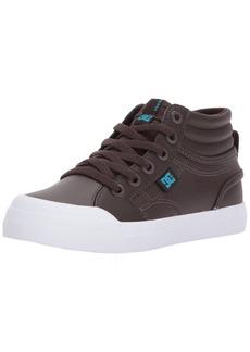 DC Boys' Youth Evan Hi Skate Shoe
