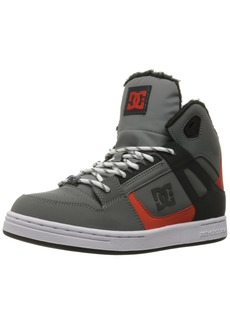 DC Boys Youth Rebound Wnt High Top Skate Shoes Sneaker