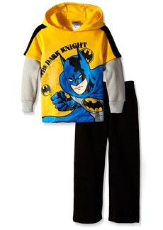 DC Comics Batman Little Boys' Toddler 2 Piece Hoodie and Pant Set