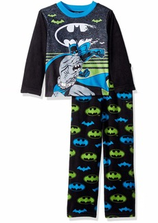 DC Comics Big Boys' Batman 2-Piece Pajama Fleece Set