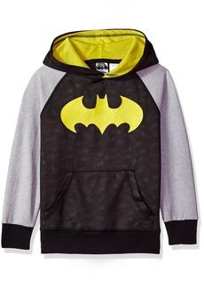 DC Comics Boys' Big Batman Logo Pullover Hoodie