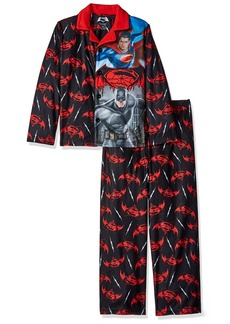 DC Comics Big Boys' Batman Vs Superman Sleepwear Coat Set