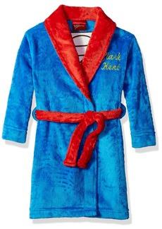 DC Comics Boys' Big Superhero Plush Velvet Fleece Robe