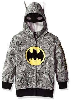 DC Comics Big Boys' Hooded Sweatshirt