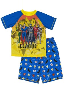 DC Comics Big Boys' Join The Justice League 2-Piece Pajama Short Set  6/7
