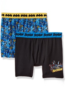 DC Comics Big Boys' Mixed Athletic Boxer Briefs 2 Pack