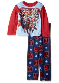 DC Comics Big Boys' The Justice League 2-Piece Fleece Pajama Set
