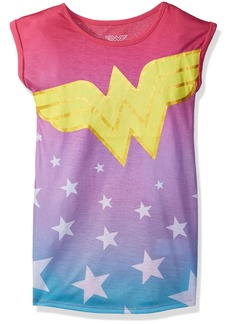 DC Comics Big Girls' Wonder Woman Stars Nightgown