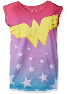 DC Comics Girls' Big Wonder Woman Stars Nightgown