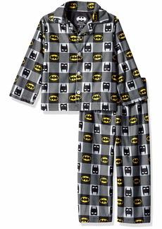DC Comics Boys' Toddler Batman 2-Piece Pajama Coat Set