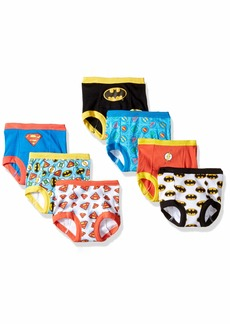 DC Comics Boys' Toddler Superman Batman and More 7-Pack Training Pants  3T 4T