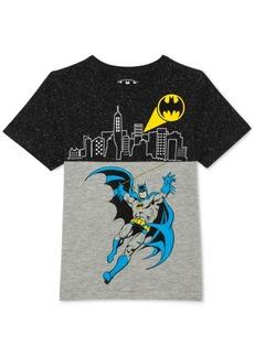 Dc Comics Toddler Boys Batman Graphic-Print T-Shirt