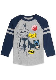 Dc Comics Little Boys Batman Raglan T-Shirt