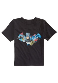 Dc Comics Little Boys Batman Shield Cotton T-Shirt