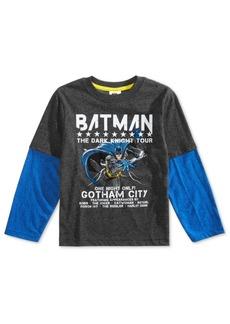 Dc Comics Little Boys Batman Tour Graphic T-Shirt