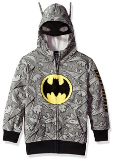 DC Comics Little Boys' Hooded Sweatshirt