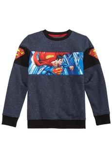 Dc Comics Little Boys Superman Graphic Fleece Sweatshirt