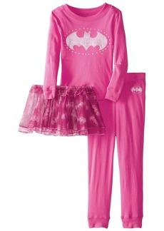 DC Intimo Girls 2-6X Toddler Batgirl Tutu Pajama Set