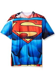 DC Superman Little Boys' Short Sleeve Raglan T-Shirt Shirt  6/7