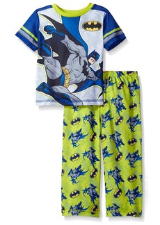 DC Comics Toddler Boys' 2pc Set With Short Sleeve Shirt and Pajama Pant