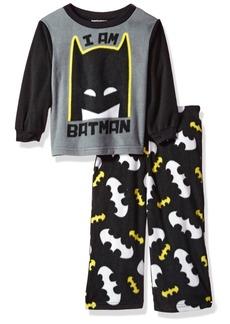 DC Comics Toddler Boys' Batman 2-Piece Fleece Pajama Set