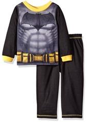 DC Comics Little Boys' Toddler Batman 2 Piece Set with Cape