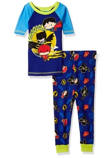 DC Comics Toddler Boys' Justice League Chibis 2-Pc Pajama Set