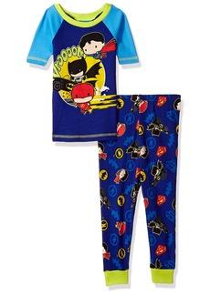 DC Comics Boys Justice League Chibis 2-Pc Toddler Pajama Set