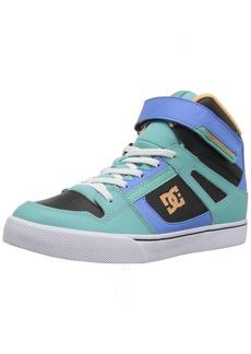DC Girls' Pure HIGH-TOP EV Skate Shoe   M US Little Kid