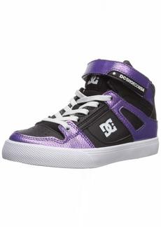 DC Girls' Pure HIGH-TOP SE EV Skate Shoe