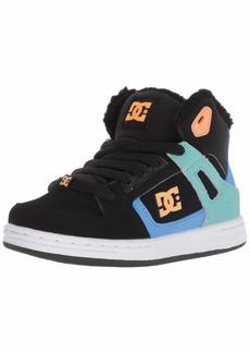 DC Girls' Pure HIGH-TOP WNT Skate Shoe