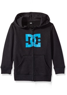 DC Youth Little Boys' Star Zip-up Sweatshirt Hoodie