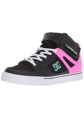DC Pure HIGH-TOP EV Girls Skate Shoe   M US Little Kid