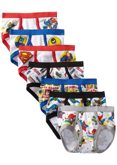 Handcraft Little Boys' DC Super Friends  Brief (Pack of 7)  2T/3T